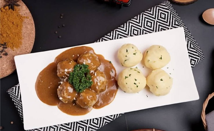Swedish Meatballs Curry - House Japanese Curry